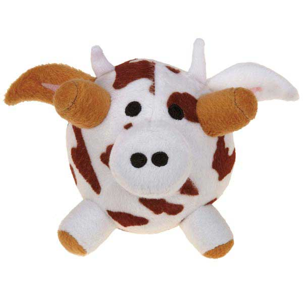 Grriggles Funny Farm Dog Toy - Cow