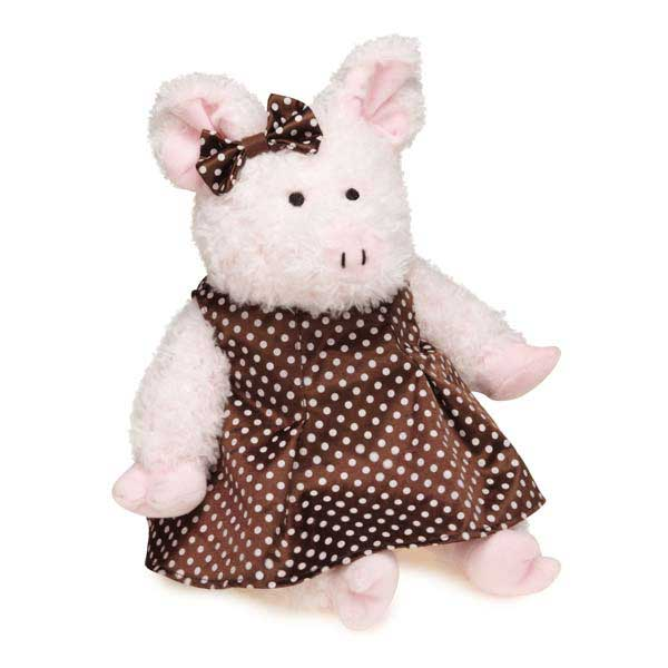 Grriggles Hoedown Hog Dog Toy - Girl