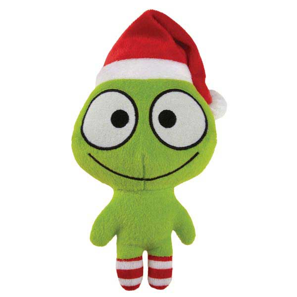 Grriggles Merry Martians Dog Toy - Green