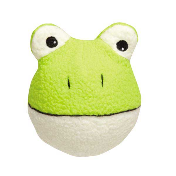 Grriggles Noggins Dog Toy - Frog