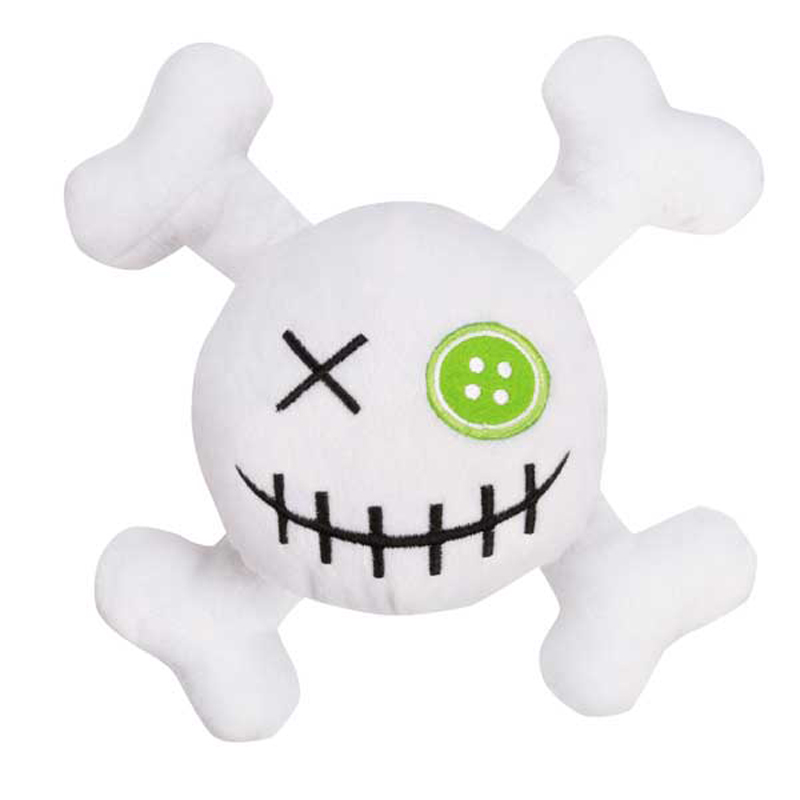 Grriggles Witching Hour Skull Dog Toy