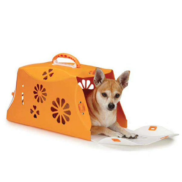 Guardian Gear Blossom Color-Me Pet Crate - Orange Crush