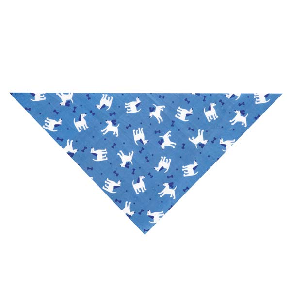 Guardian Gear Dogs and Bones Insect Shield Dog Bandana - Blue