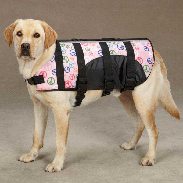 Guardian Gear Printed Pet Preserver - Peace Sign