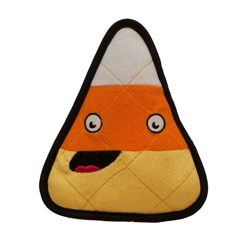 Halloween Tuff Ones Dog Toy - Candy Corn