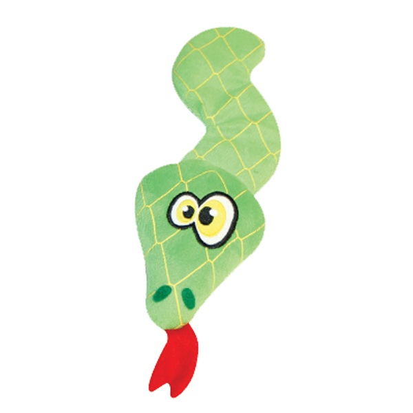 Hear Doggy Flat Dog Toy - Snake