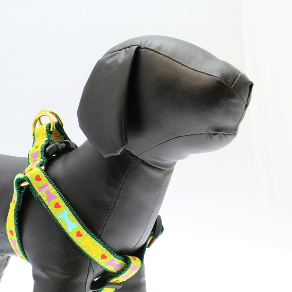 Heart and Bone Dog Harness by Up Country