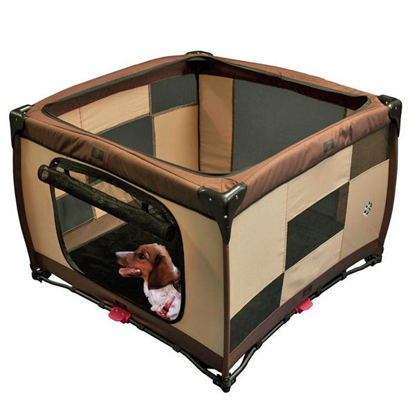 Home N Go Square Pet Pen - Sahara