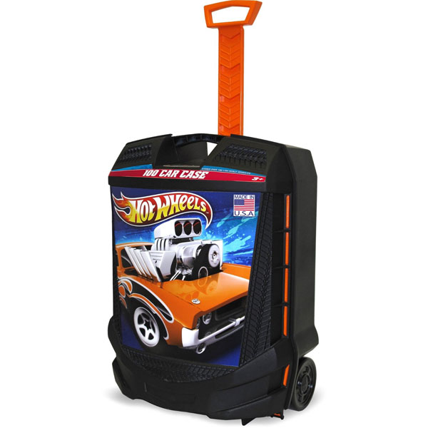 Hot Wheels Toy Car Holder Case : Hot wheels toys car rolling case at toystop