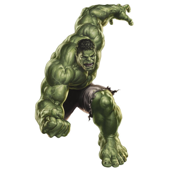 The Hulk Bedroom Decor   Giant Avengers Wall Decal At ToyStop