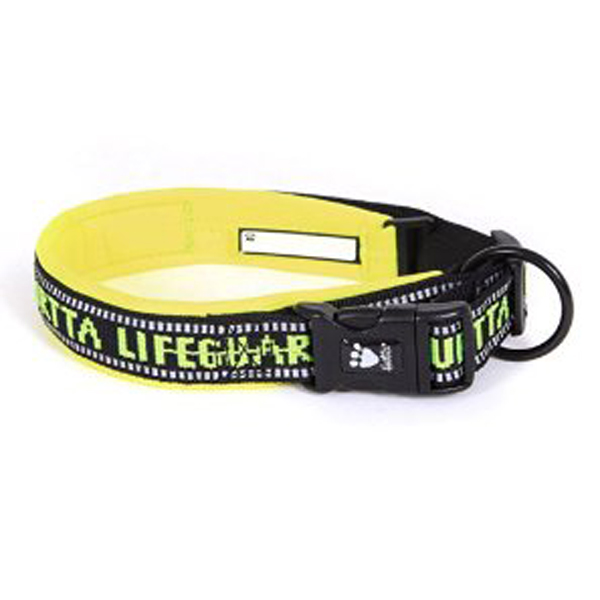 Hurtta Outdoors Padded Dog Collar - Yellow