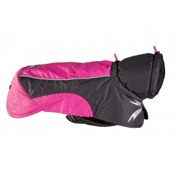 Hurtta Ultimate Warmer Dog Coat - Raspberry