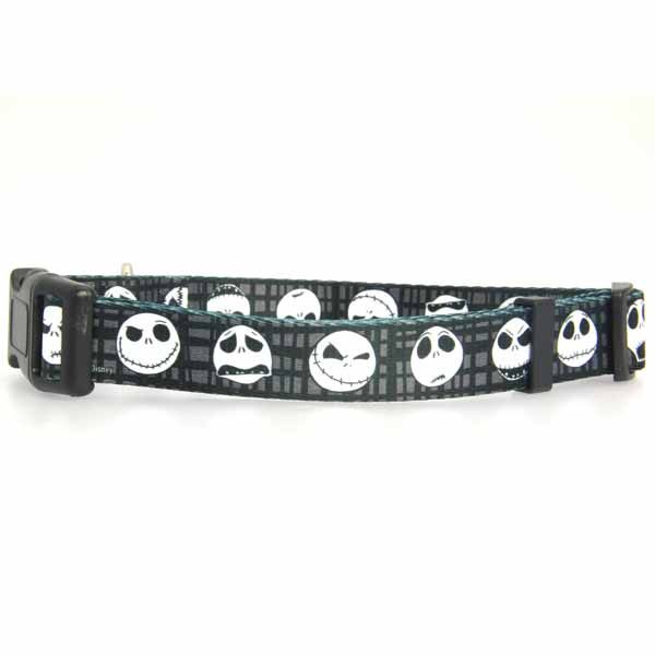 Jack Skellington Dog Collar