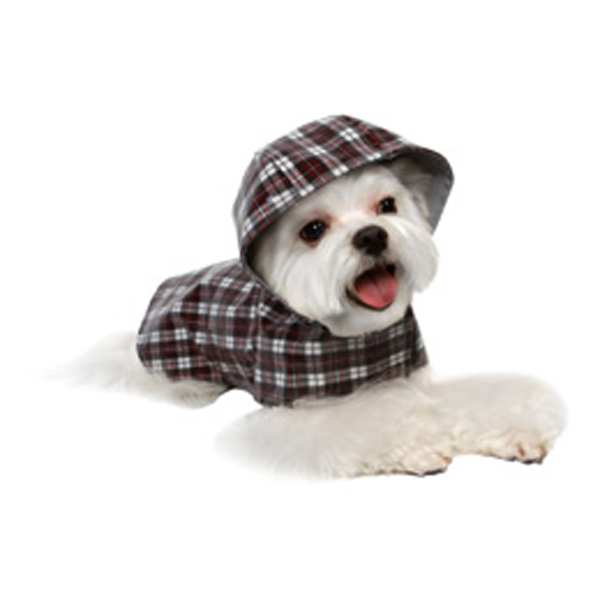 Jake Plaid Dog Raincoat