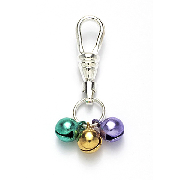 Jingle Bell New Orleans Style Dog or Cat Collar Charm