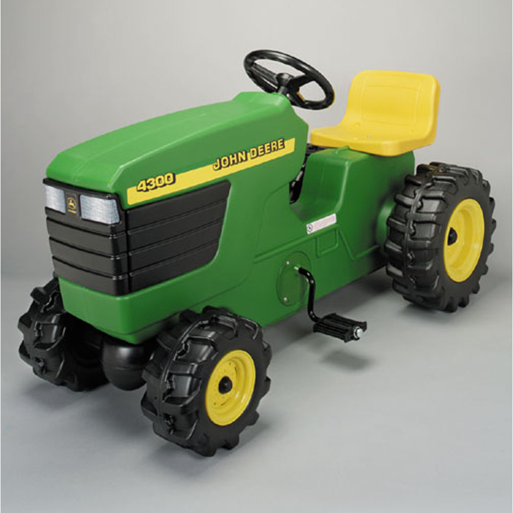 & John Deere Toys - Plastic Pedal Tractor at ToyStop