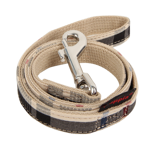 Junior Dog Leash by Puppia - Beige