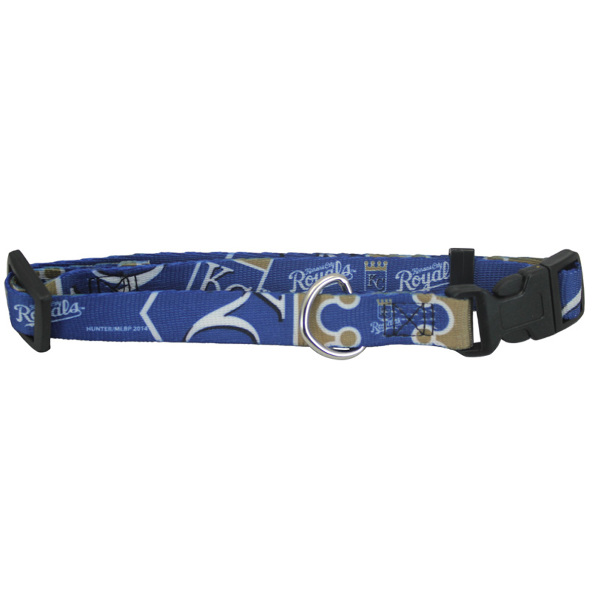 Kansas City Royals Baseball Printed Dog Collar - Navy