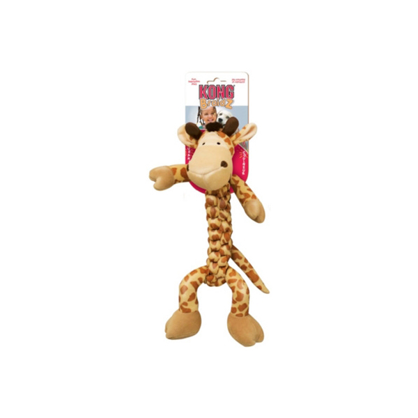 Kong BraidZ Dog Toy - Giraffe