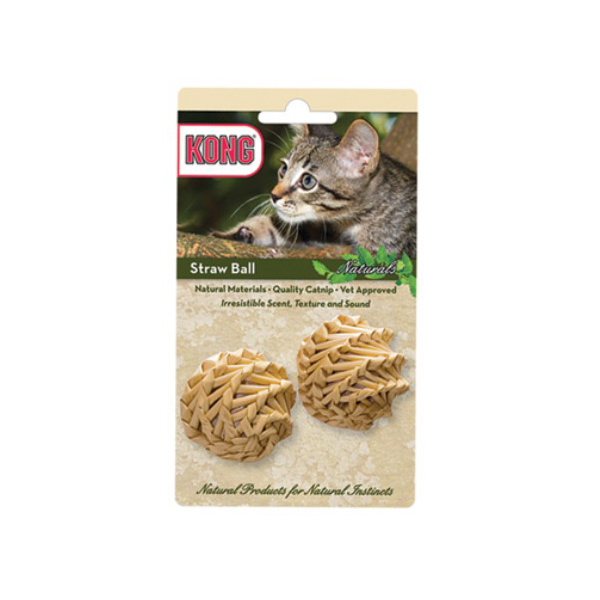 Kong Naturals Straw Ball Cat Toy