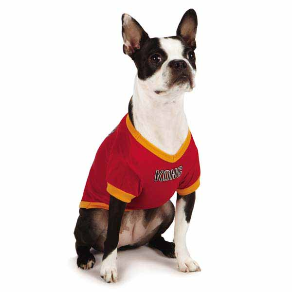 KONG Sports Dog Jersey - Red