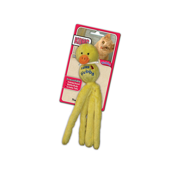 KONG Wubba Toy for Cats - Duck