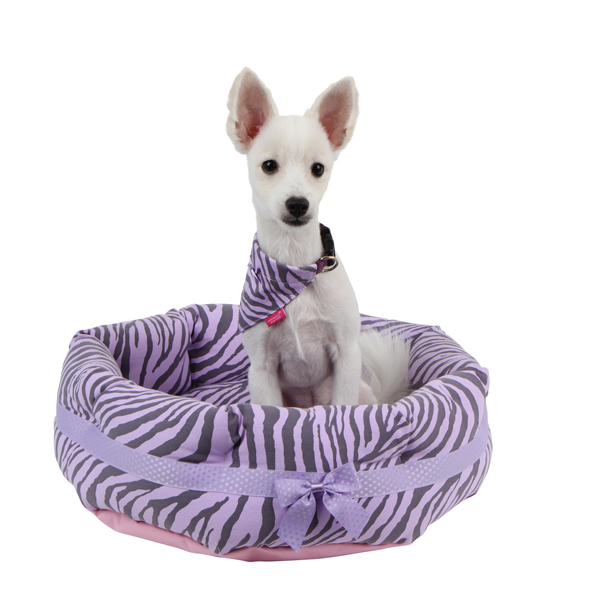 Leo Dog Bed by Pinkaholic - Violet