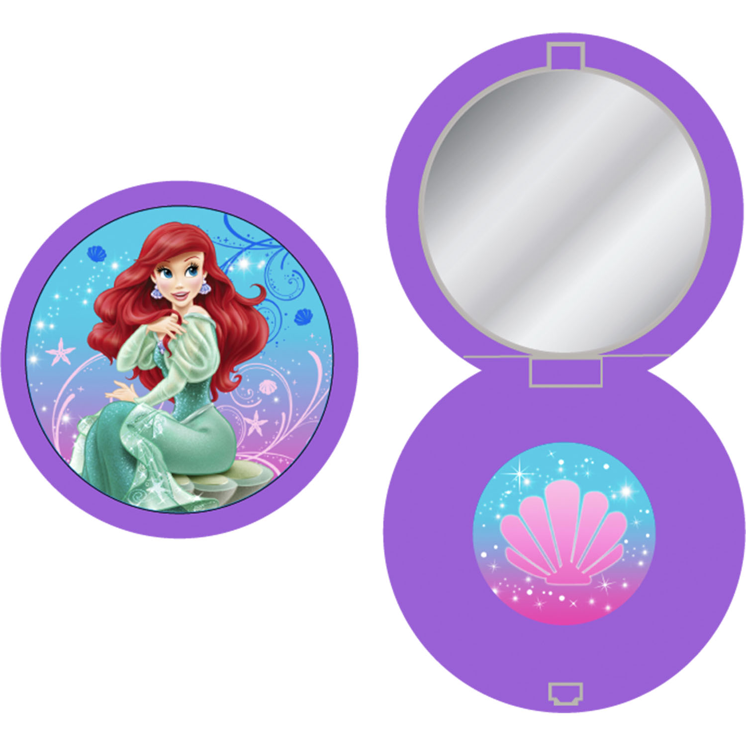 The Little Mermaid Party Supplies - Sparkle™ Compact Mirrors at ToyStop