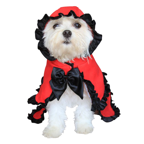Little Red Riding Hood Halloween Dog Costume