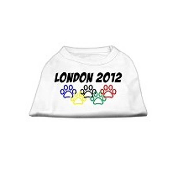 London 2012 Dog Shirt - White