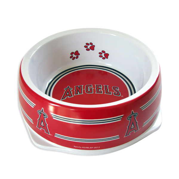 Los Angeles Angels Plastic Dog Bowl