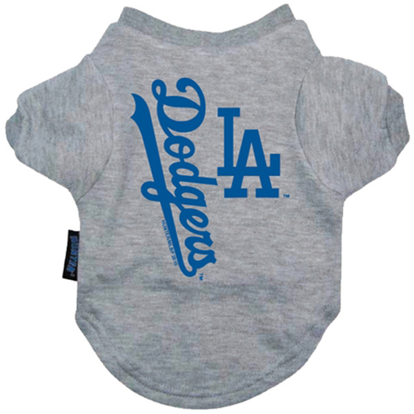 Los Angeles Dodgers Dog T-Shirt