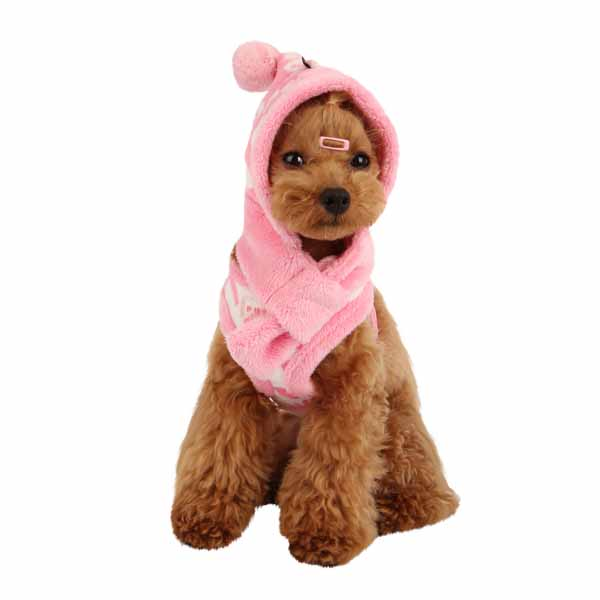 Love Letter Dog Hat by Puppia - Pink
