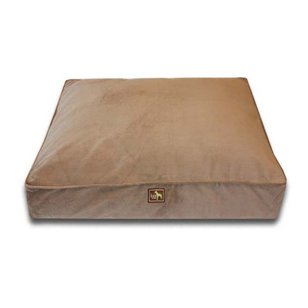 Luca Traditional Rectangle Dog Bed - Coco