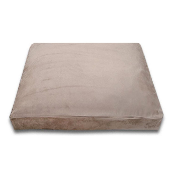 Luca Traditional Rectangle Dog Bed - Earth