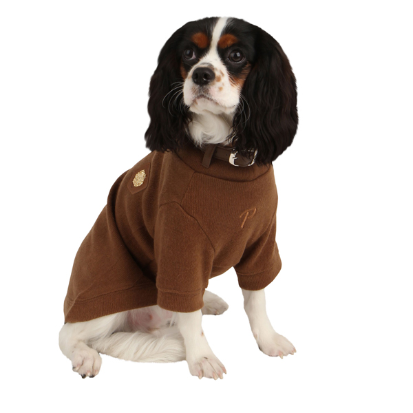 Maddox Dog Sweater by Puppia - Camel