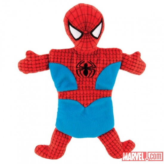 Marvel Flat Crinkle Dog Toy - Spider-Man