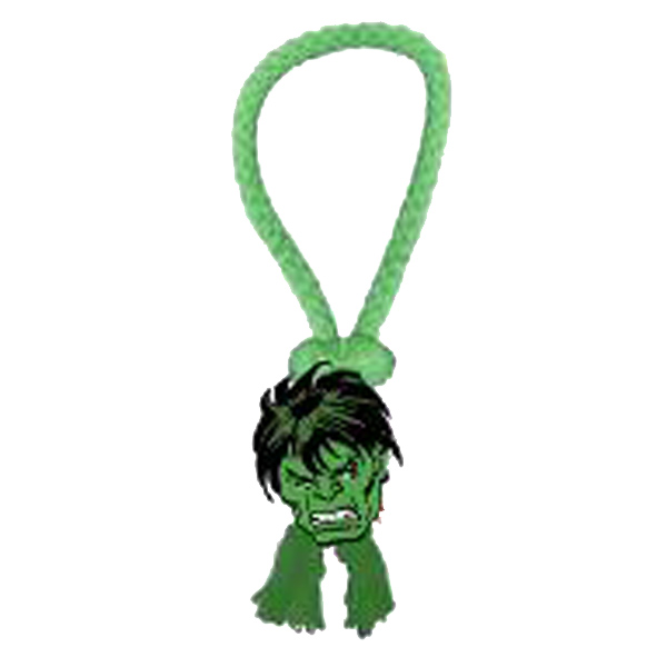 Marvel Rope Tug Dog Toy - Hulk