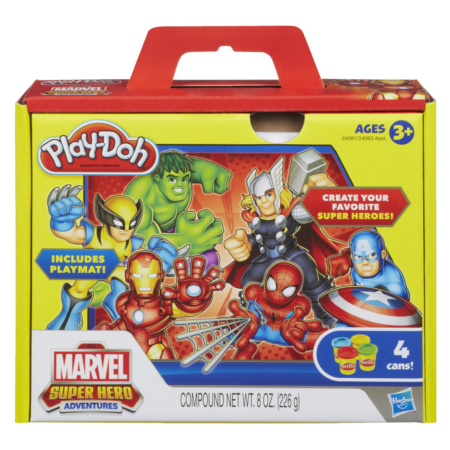 Super Hero Toys For Boys : Marvel toys play doh™ super hero squad adventure set at