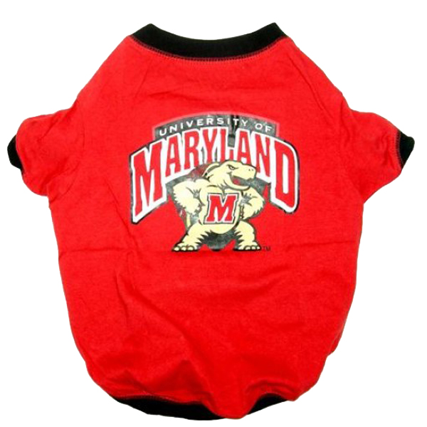 Maryland Terrapins Dog T-Shirt
