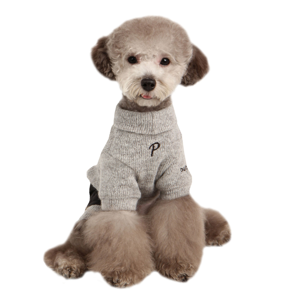 Meek Dog Jumpsuit by Puppia - Gray