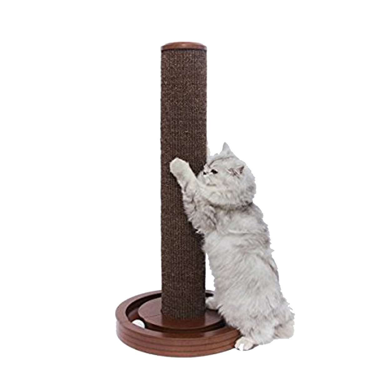 merry pet cat scratching post with round ball toy base with same day shipping baxterboo - Cat Scratching Post