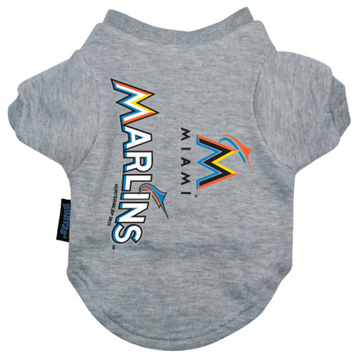 miami marlins dog t shirt with same day shipping baxterboo