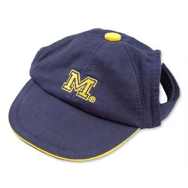 Michigan Wolverines Dog Hat