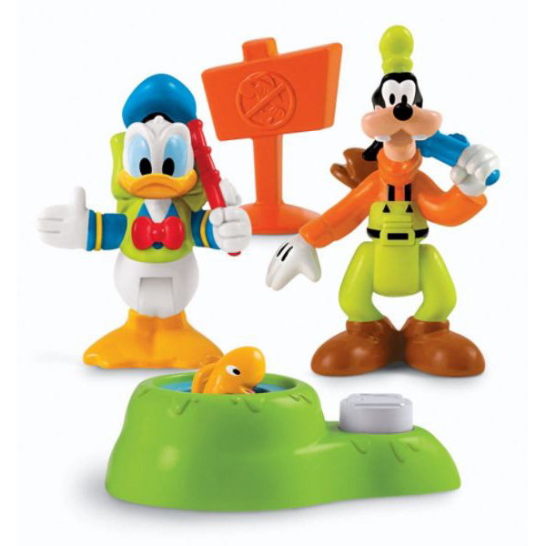 Camping Toys Product : Mickey mouse clubhouse toys donald and goofy camping