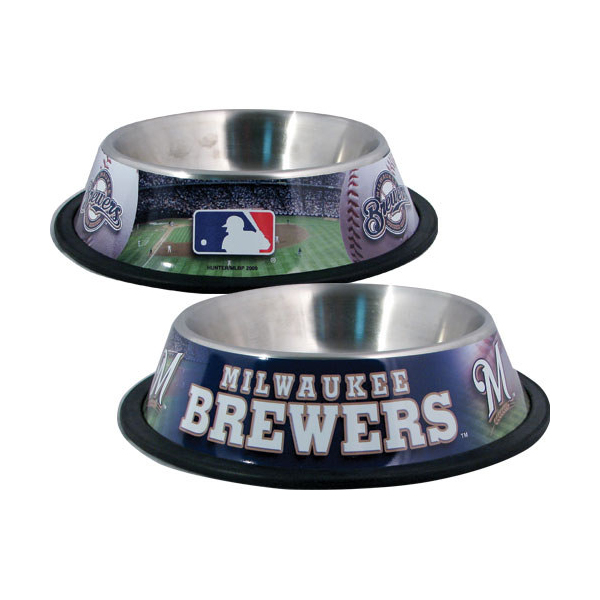 Milwaukee Brewers Dog Bowl