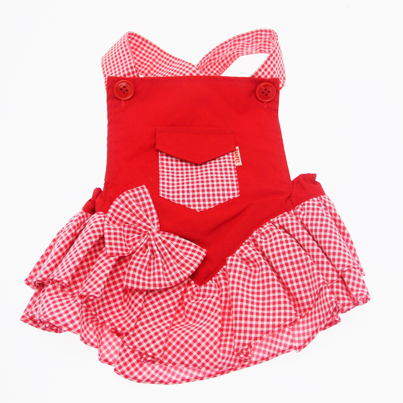Mini Pocket Dress - Red