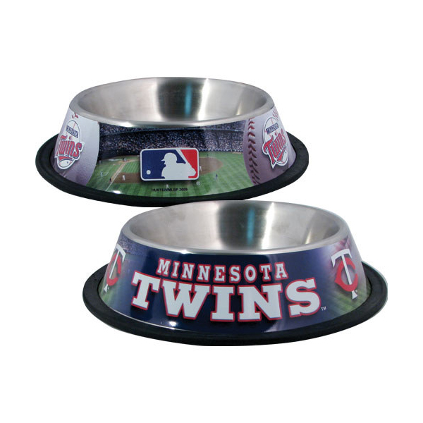 Minnesota Twins Dog Bowl