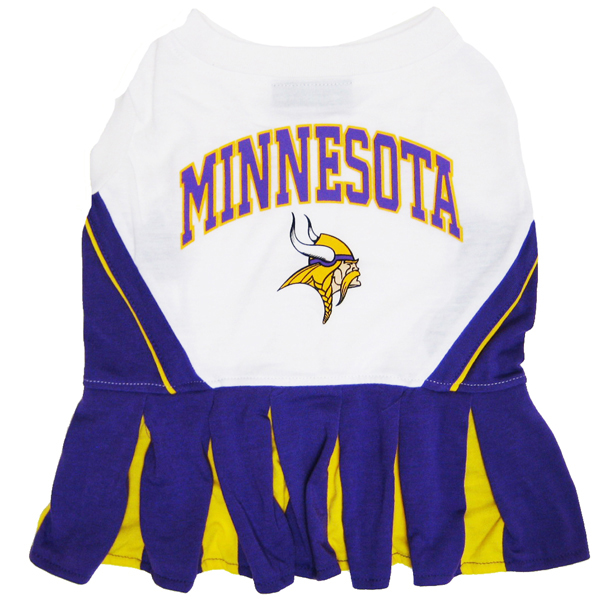 Minnesota Vikings Cheerleader Dog Dress
