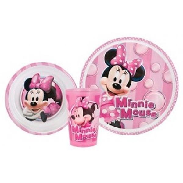 sc 1 st  ToyStop & Minnie Mouse Dinnerware - 3 Piece Dinnerware Set at ToyStop